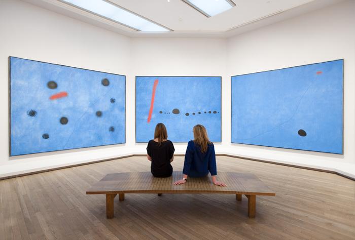 Joan Miró Blue I-II-III 1961