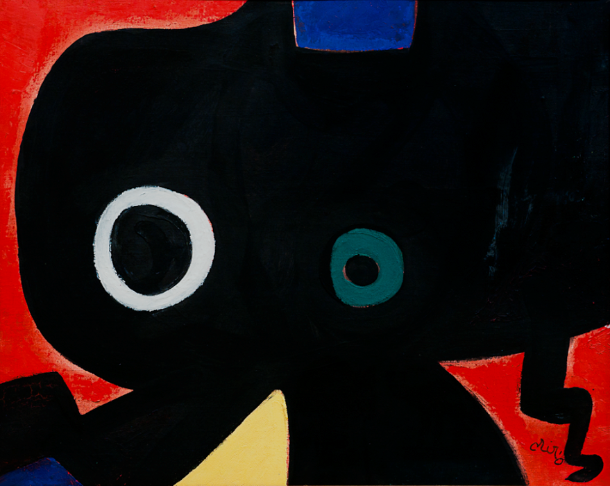 ": ""Personagge"" (1973) Joan Miro"