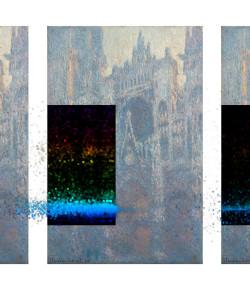 Ichograph Triptych – Monet